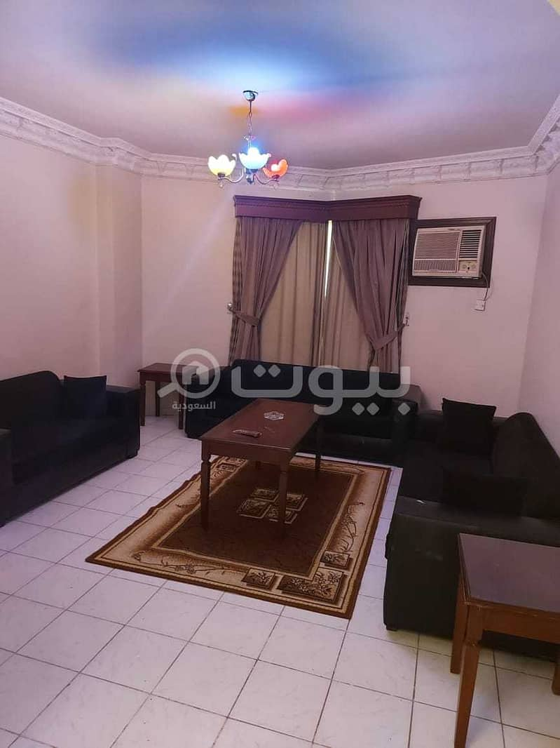 Furnished apartments for monthly or yearly rent in Al Nuzhah, north of Jeddah