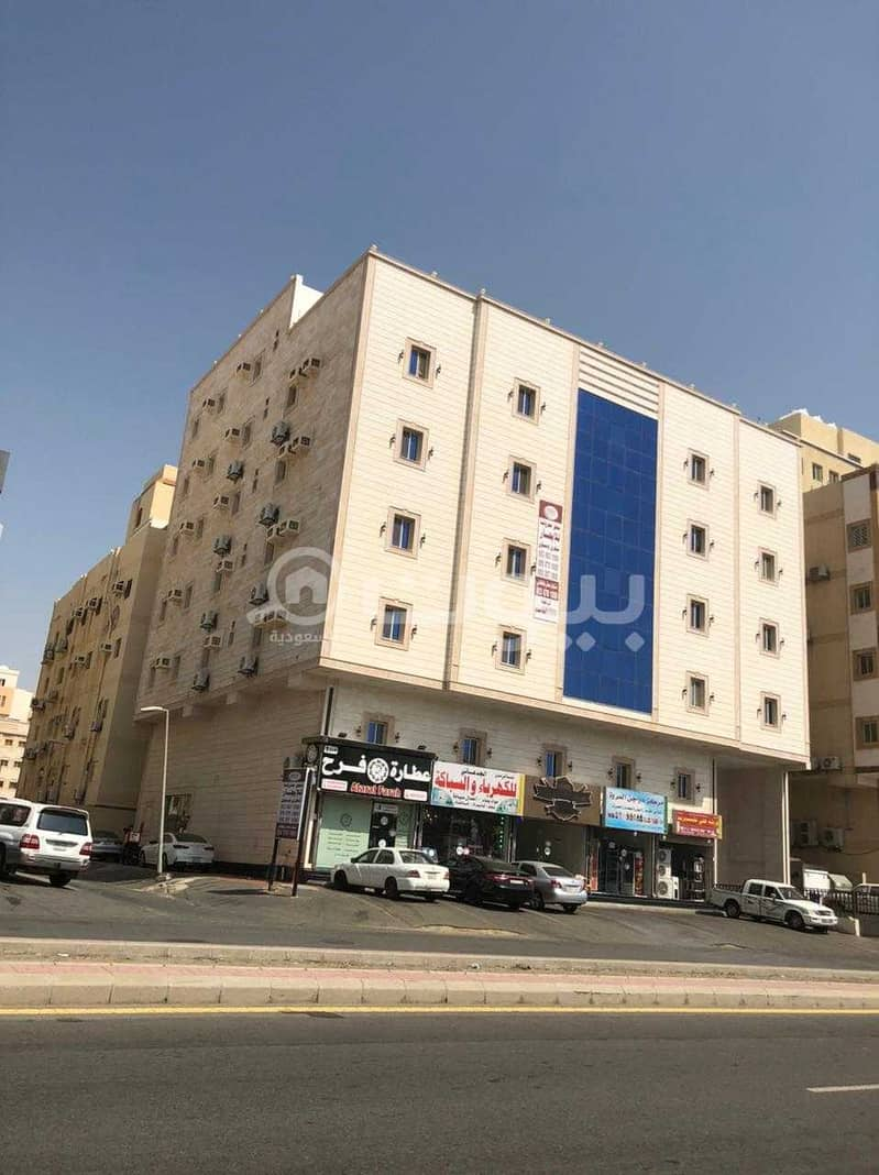 Furnished apartments for rent in Al Marwah district, north of Jeddah