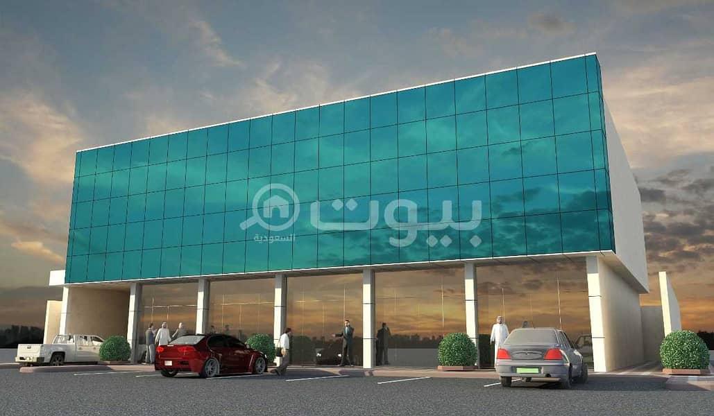 مبنى كامل   2600م2 للإيجار بحي العارض، شمال الرياض