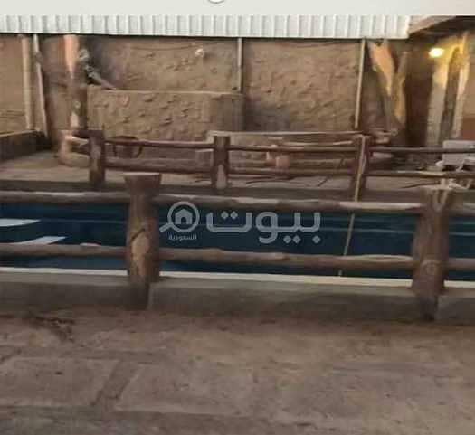 استراحة مع مسبح للبيع في السد، المدينة المنورة