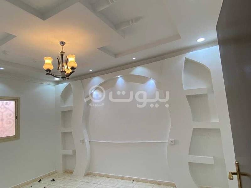 1st Floor apartment for rent in Dhahrat Laban, West of Riyadh