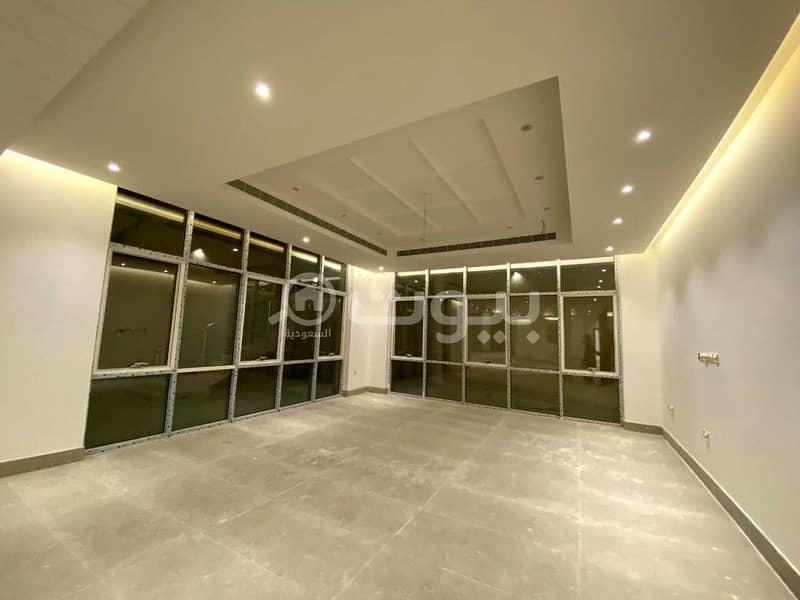 Villa with 2 annexes for sale in Al Yasmin district, north of Riyadh