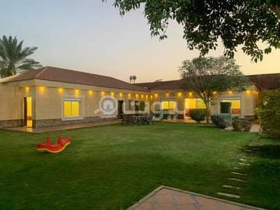 Rest House for Sale in Riyadh, Riyadh Region - A Private Luxury istiraha For Sale In Al Rimal, East Riyadh
