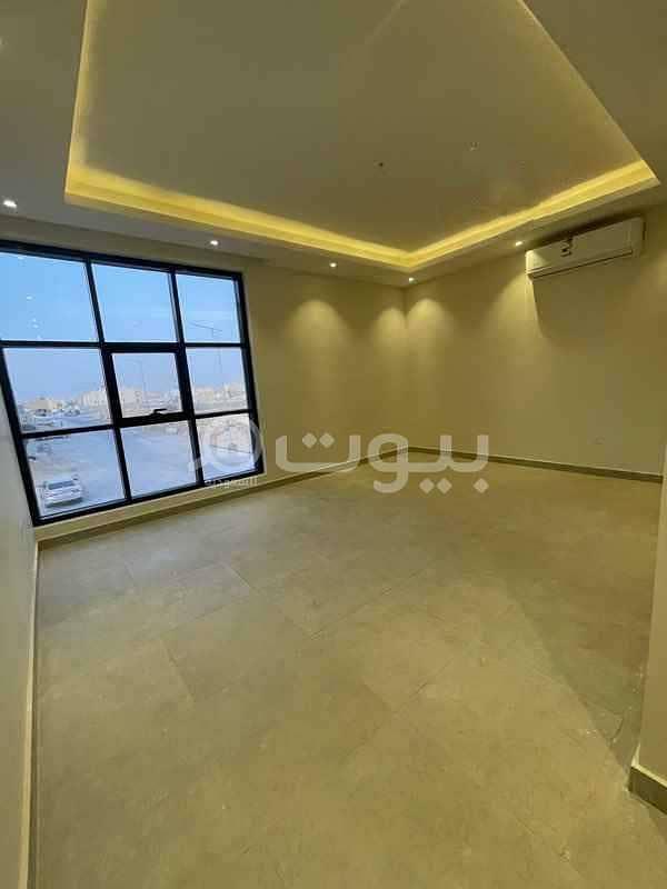 فيلا روف مع 3 سطوح خارجية للإيجار بحي النرجس، شمال الرياض