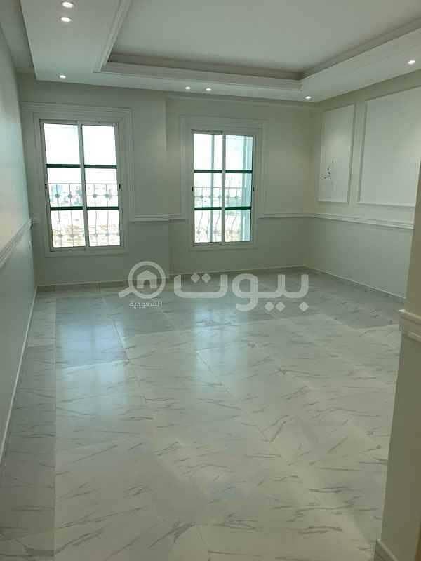 شقة عوائل أرضية للإيجار بحي ظهرة لبن، غرب الرياض