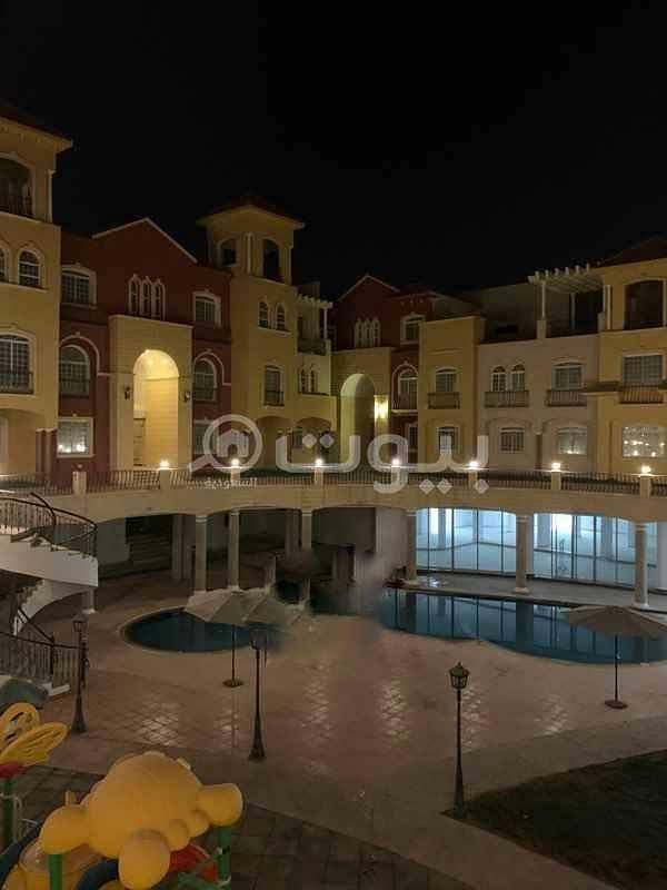 شقة للايجار بكمباوند بحي ظهرة لبن، غرب الرياض