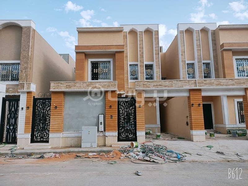 An internal staircase villa for sale in Al Munsiyah, east of Riyadh