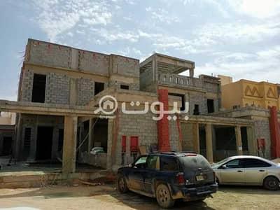 فیلا 5 غرف نوم للبيع في الرياض، منطقة الرياض - فيلا درج داخلي وشقتين في الرمال، شرق الرياض