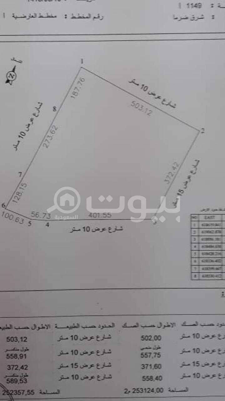 مزرعة للبيع في ضرما، منطقة الرياض