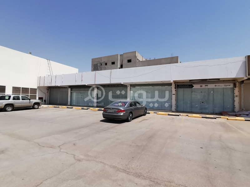 محلات للإيجار في سوق بنده بحي المطار، عنيزة
