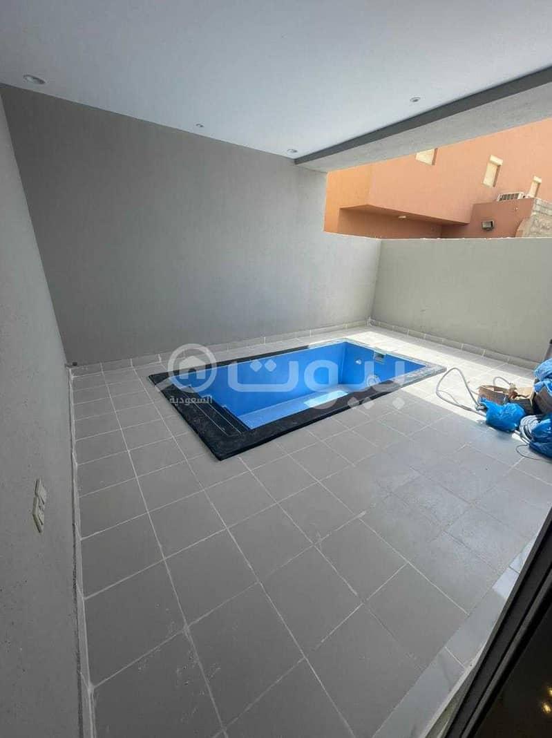 Modern Villa | with pool for sale in Al Zumorrud, North of Jeddah