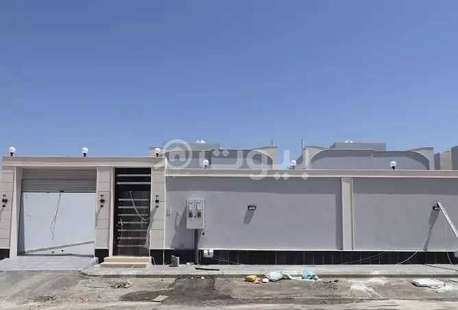 One Floor Luxury Villa For Sale In Taiba District, North Jeddah