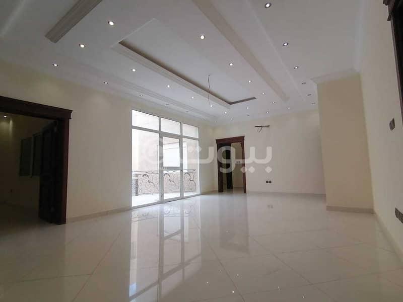 Villa for sale in Al Sheraa district, north of Jeddah | 400 sqm