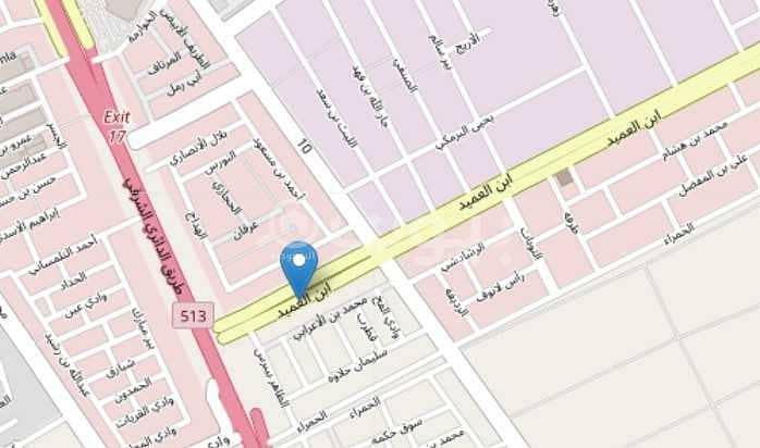 أرض تجارية للبيع في حي النور، جنوب الرياض