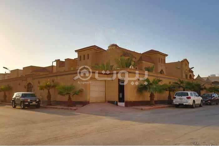 قصر مفروش فاخر للبيع بحي الملك فيصل، شرق الرياض