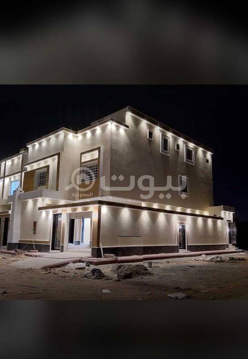 Villas Internal Staircase And Apartment For Sale In Al Rimal, East Of Riyadh