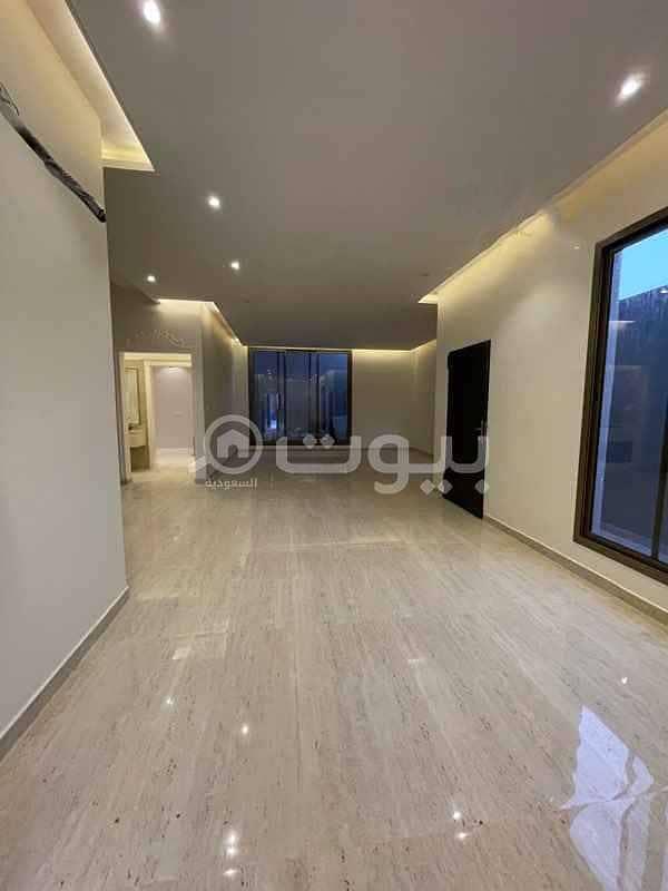 Villa for sale on Al-Sail Al-Kabeer Road, Al Mahdiyah district, west of Riyadh