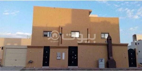 5 Bedroom Villa for Sale in Riyadh, Riyadh Region - Western facade villa for sale in Dhahrat Laban district, west of Riyadh