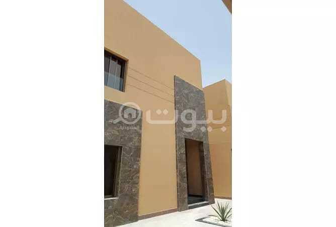 Luxury villas with swimming pool and elevator for sale in Al Yasmin, North Riyadh