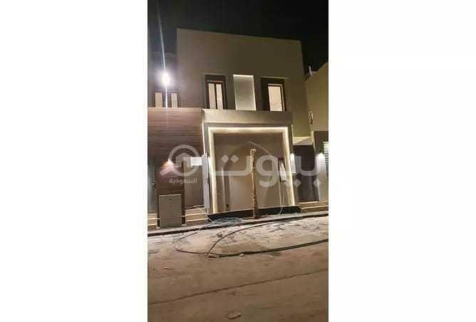 للبيع فيلا فاخرة 260م2 بحي النرجس، شمال الرياض