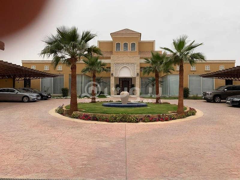 قصر للبيع في حي المعذر، غرب الرياض