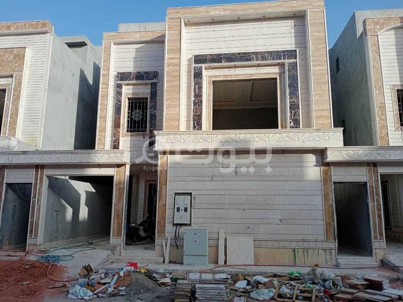 Villa with internal stairs and an apartment in Al Munsiyah, east of Riyadh