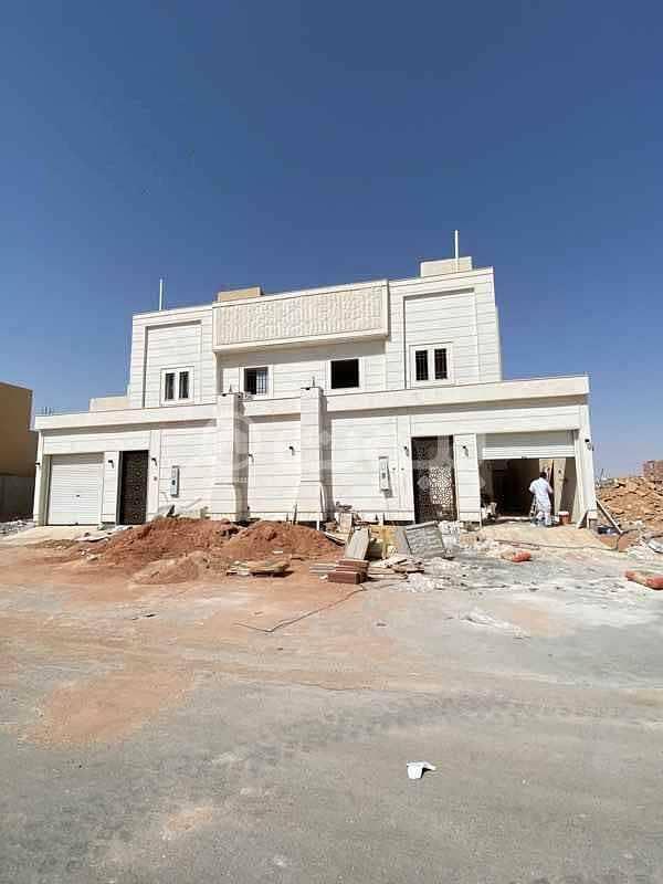 Villa with an annex for sale in Al Mahdiyah, West of Riyadh