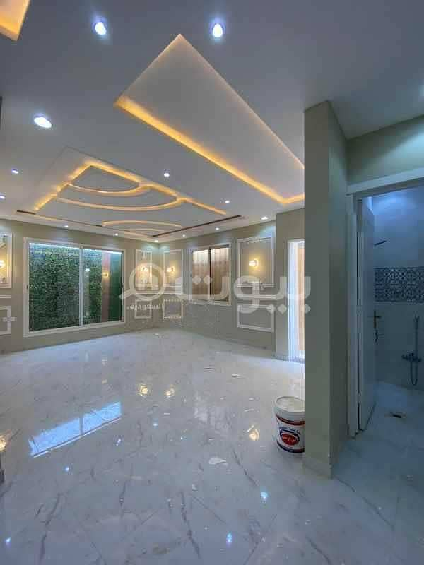 Duplex villa | Excellent Finishing for sale in Al Mahdiyah, West of Riyadh