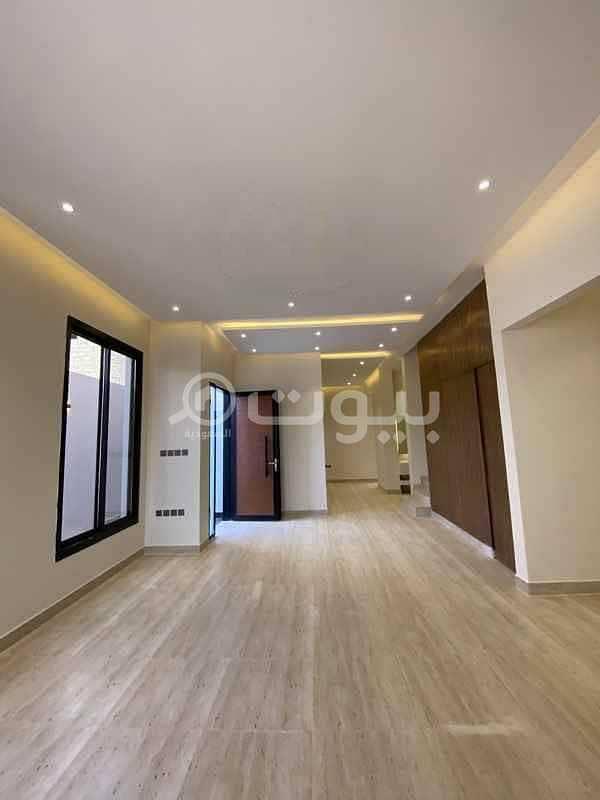 Duplex Villa with a yard for sale in Al Mahdiyah, West of Riyadh