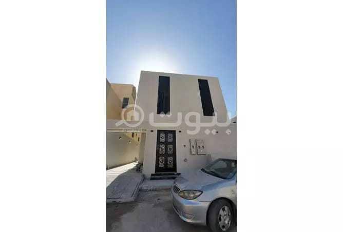 Classy villa with 2 apartments for sale in Al Yasmin, North of Riyadh