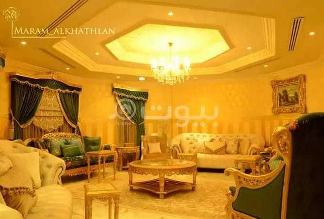 قصر مفروش للبيع مع مسبح في الوادي، شمال الرياض