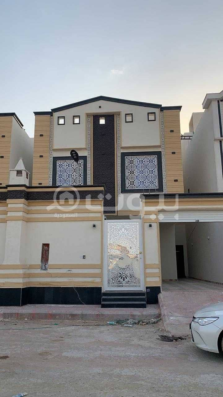 Villa with staircase | Close to services for sale in Al Mousa district, west of Riyadh