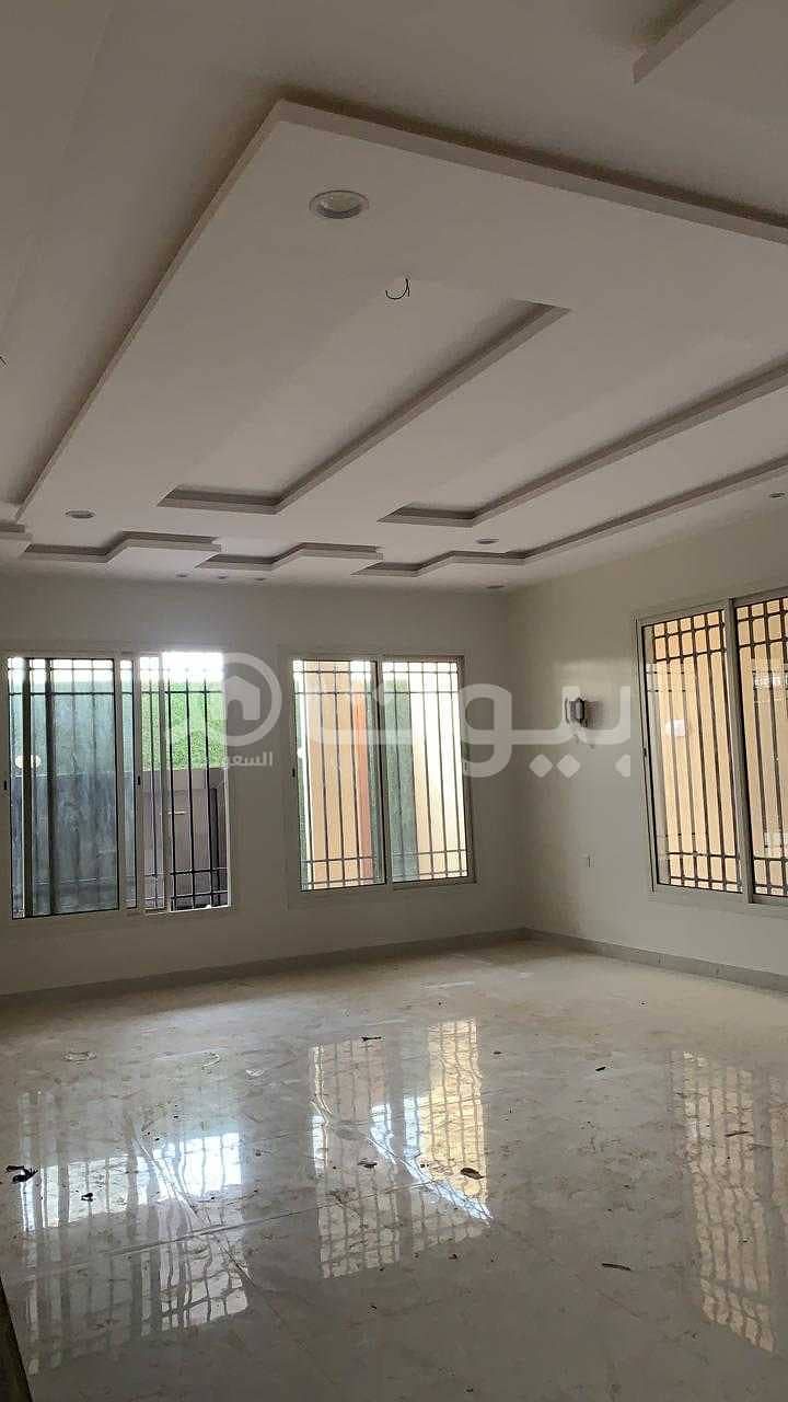 Villa with internal staircase and 2 apartments for sale in Al Mousa, West of Riyadh