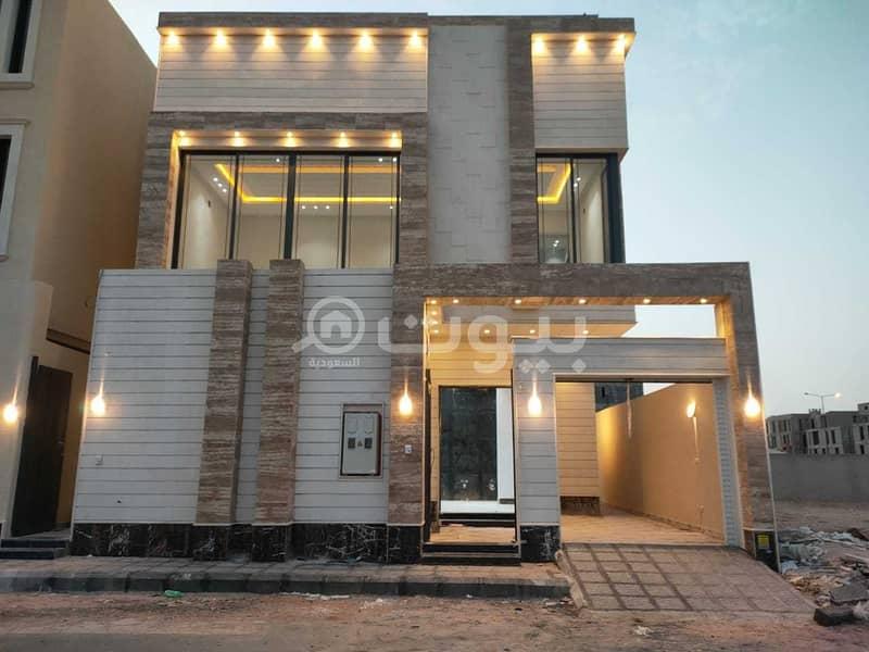 Internal Staircase Villa And Apartment For Sale In Al Munsiyah, East Riyadh