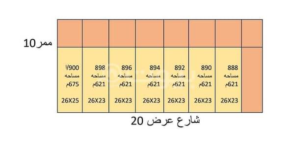 Residential Land for Sale in Riyadh, Riyadh Region - Residential Plots of Land for sale in Al Hazm, West of Riyadh