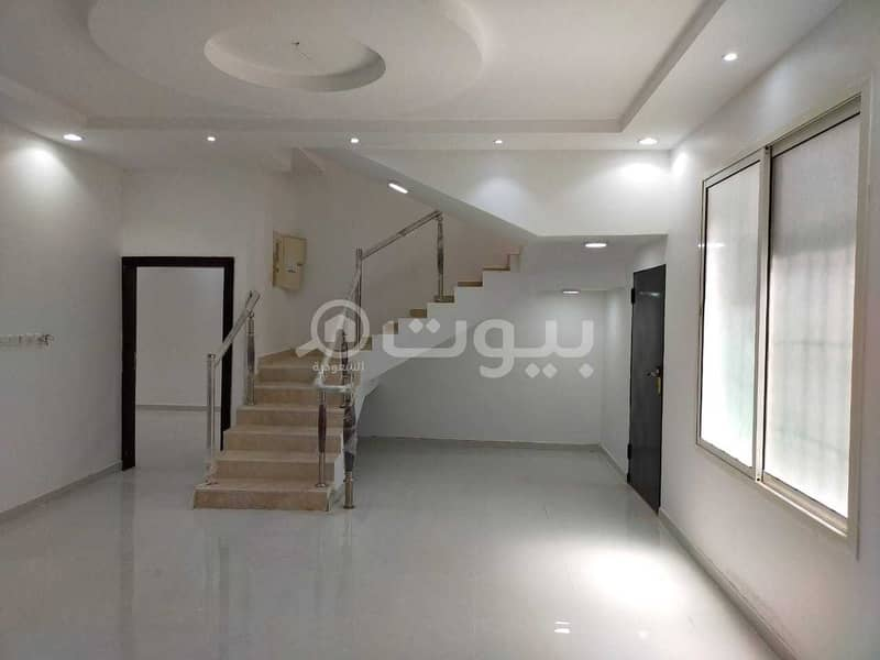 Villa | Staircase with 2 apartments for sale in Al Rimal, East of Riyadh