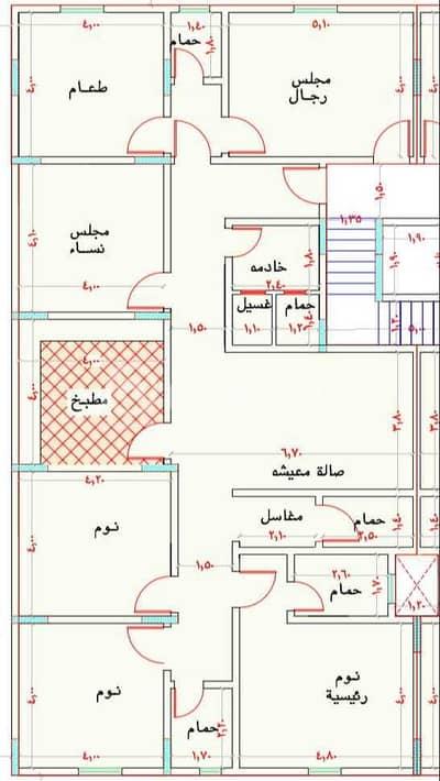 شقة 6 غرف نوم للبيع في جدة، المنطقة الغربية - شقة للبيع في مخطط الريان، شمال جدة