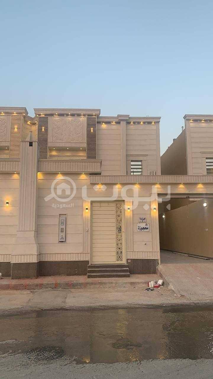 Villa for sale duplex staircase hall in Al Mousa, Tuwaiq, West Riyadh