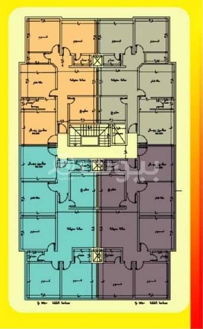 Studio for Sale in Jeddah, Western Region - Apartments For Sale In Al Waha, North Jeddah