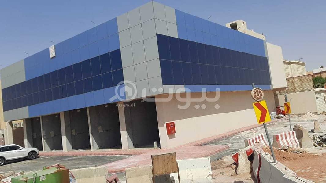 للايجار عمارة تجارية مكتبية في الحمراء، شرق الرياض