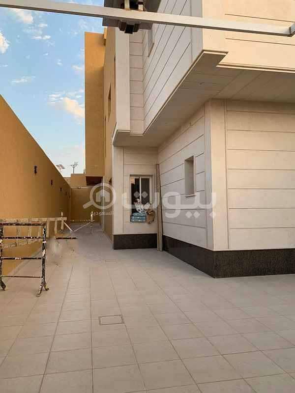 فيلا درج صالة للايجار بحي النرجس، شمال الرياض