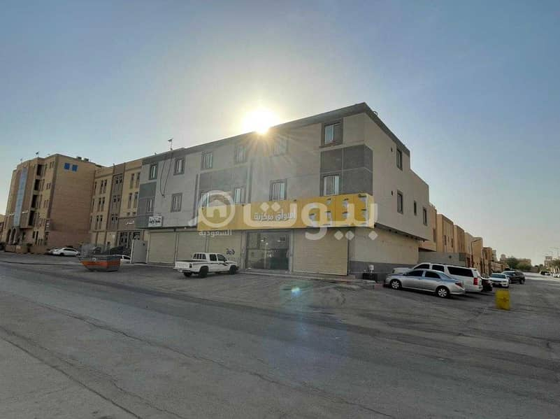 For rent 4 shops in Dhahrat Laban district, west of Riyadh