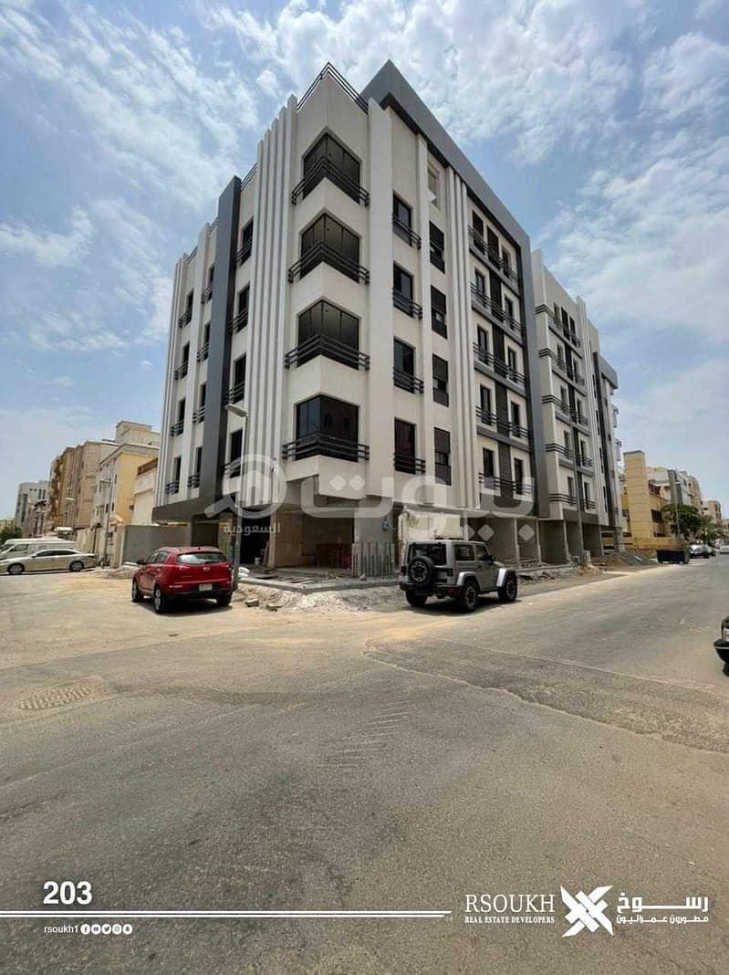 شقق على شارعين للبيع في السلامة، شمال جدة