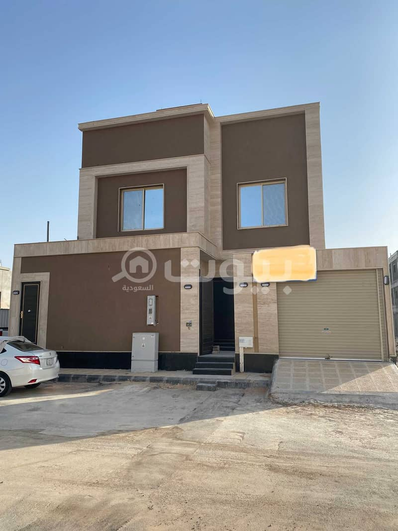 For sale villa staircase hall in Al Arid, North Riyadh