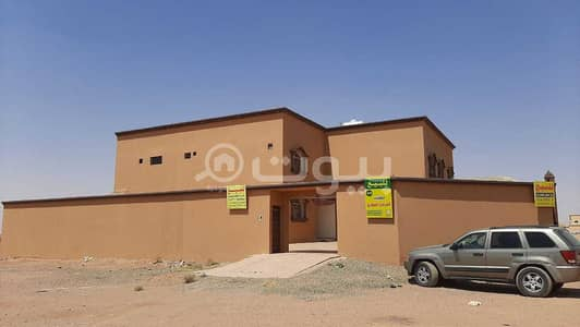 6 Bedroom Villa for Sale in Hail, Hail Region - Villa floors and 2 apartments for sale in Al Dahiya neighborhood, Al Suwayfilah, Hail