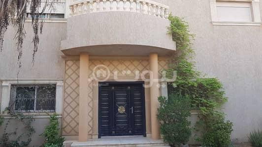 6 Bedroom Villa for Sale in Riyadh, Riyadh Region - Internal Staircase Furnished Villa For Sale In Al Wadi, North Riyadh