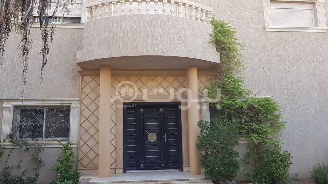 Internal Staircase Furnished Villa For Sale In Al Wadi, North Riyadh