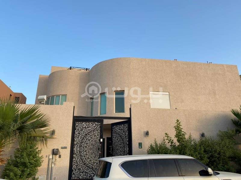 For sale villa in Al Yasmin district, north of Riyadh