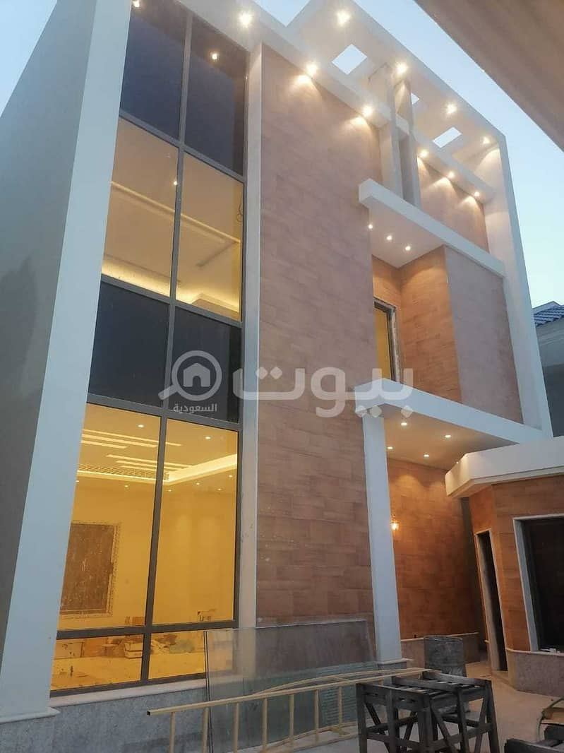 For sale 2 villas in Hittin, north of Riyadh