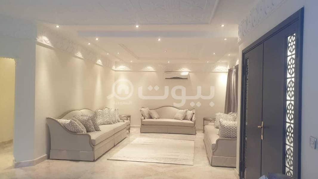 Villa with a pool for sale in Al Yasmin District, North of Riyadh